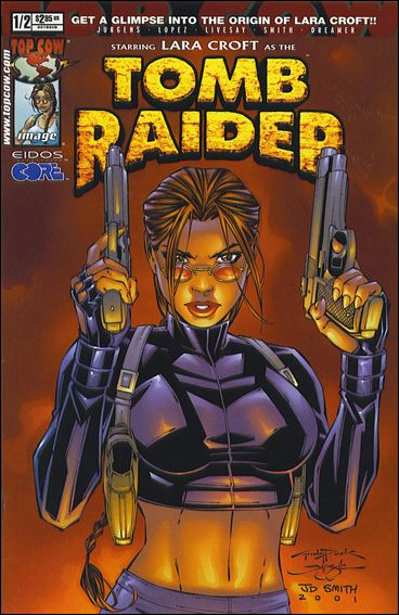 Tomb Raider: The Series 1/2-D by Top Cow