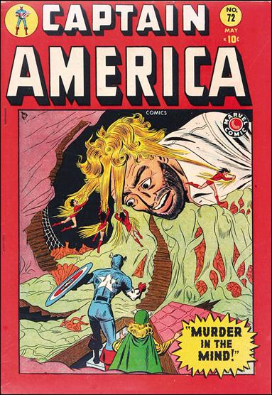 Captain America Comics (1941) 72-A by Timely