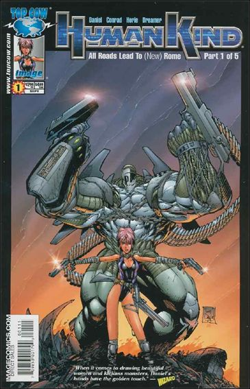 Humankind 1-A by Top Cow