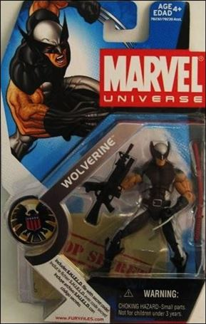Marvel Universe (Series 1) Wolverine (X-Force Costume)