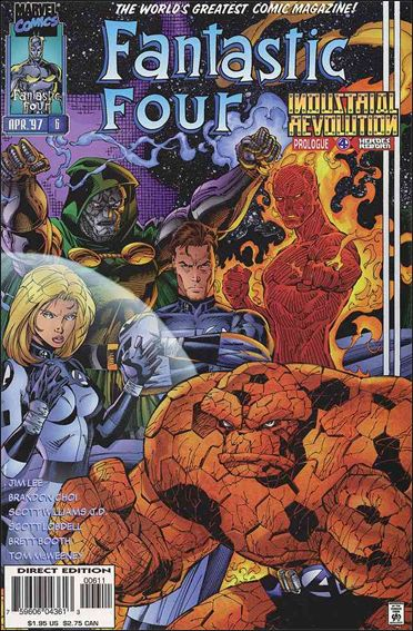 Fantastic Four (1996) 6-A by Marvel