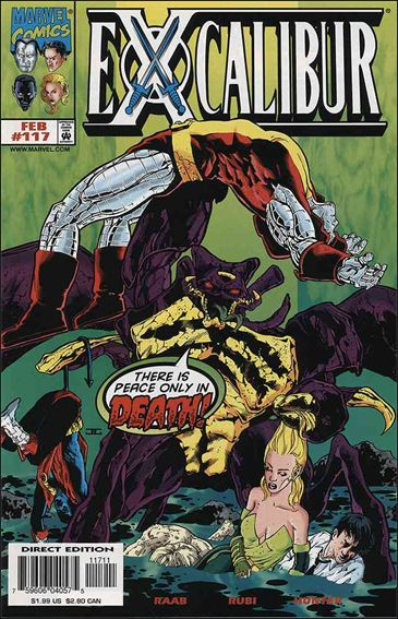 Excalibur (1988) 117-A by Marvel