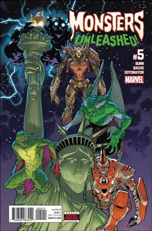 Monsters Unleashed (2017/06) 5-A