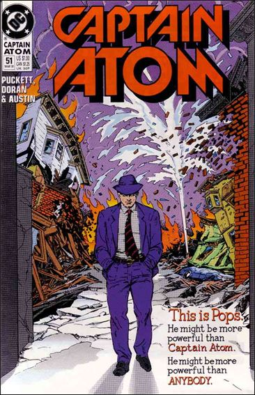 Captain Atom (1987) 51-A by DC