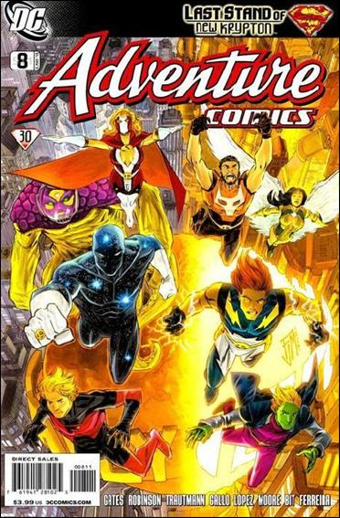 Adventure Comics (2009) 8-A by DC