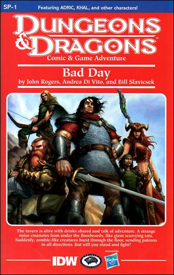 Dungeons & Dragons SP-1-C by IDW