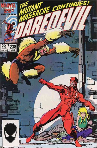 Daredevil (1964) 238-A by Marvel