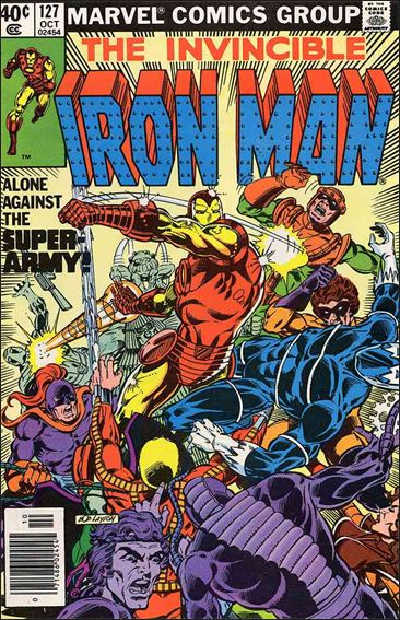 Iron Man (1968) 127-A by Marvel
