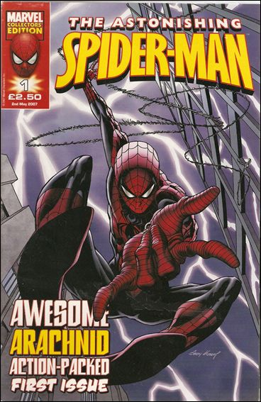 Astonishing Spider-Man (UK) (2007) 1-A by Marvel UK