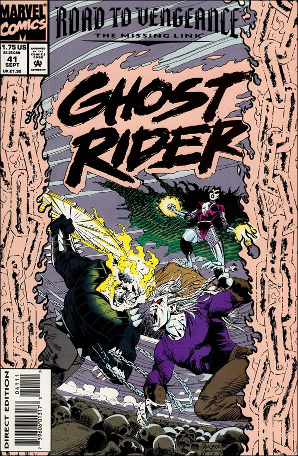 Ghost Rider (1990) 41-A by Marvel