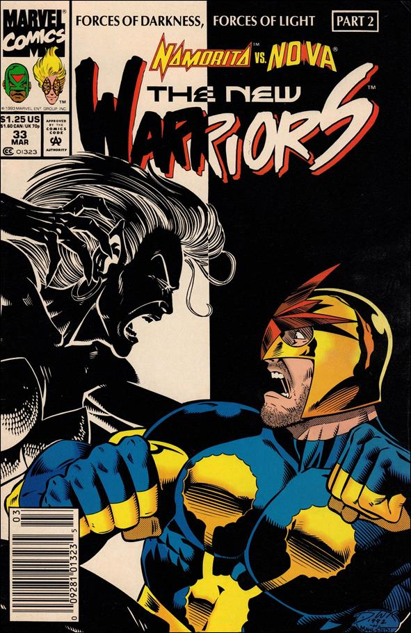 New Warriors (1990) 33-A by Marvel