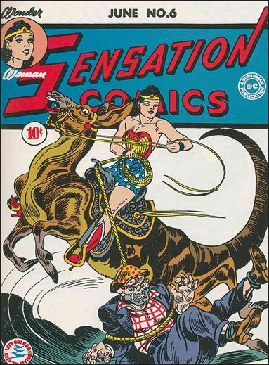 Sensation Comics (1942) 6-A by DC