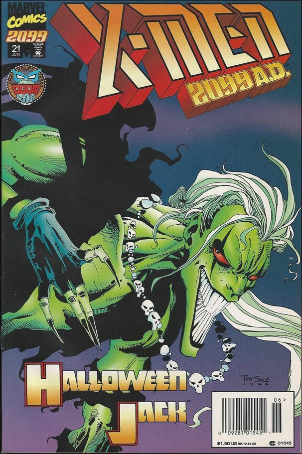 X-Men 2099 21-B by Marvel