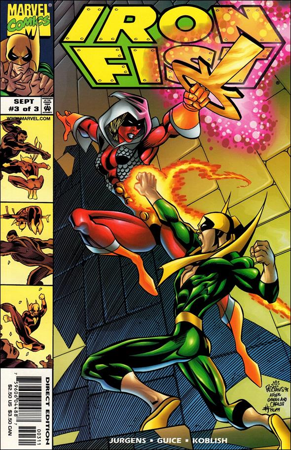 Iron Fist (1998) 3-A by Marvel