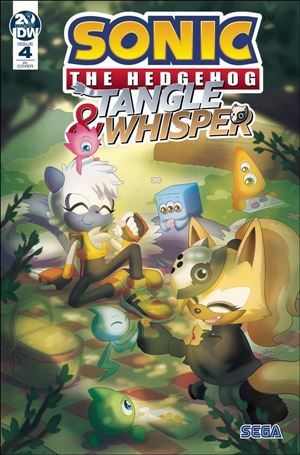 Sonic the Hedgehog: Tangle & Whisper 4-C
