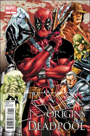 X-Men Origins: Deadpool 1-A by Marvel