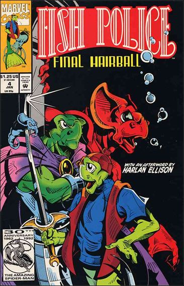 Fish Police (1992) 4-A by Marvel