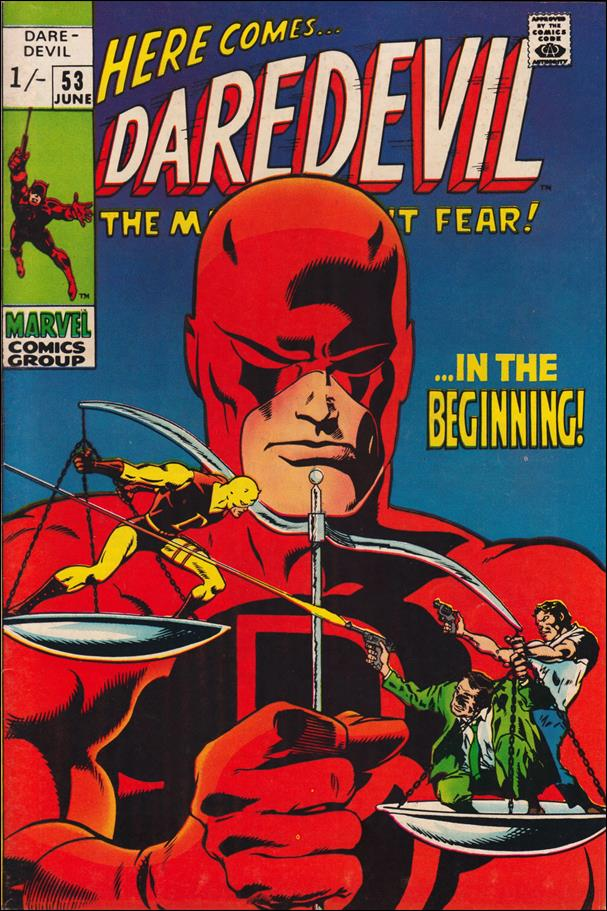Daredevil (1964) 53-B by Marvel