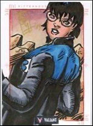 2013 Valiant Comics Preview Trading Card Set (Sketch Card Subset) EH-04-A
