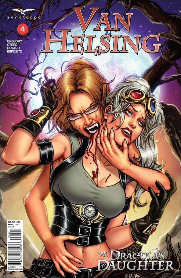 Van Helsing vs. Dracula's Daughter 4-B by Zenescope Entertainment