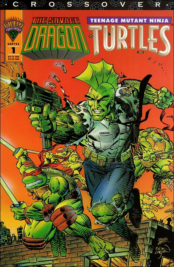 Savage Dragon/Teenage Mutant Ninja Turtles Crossover 1-A by Mirage