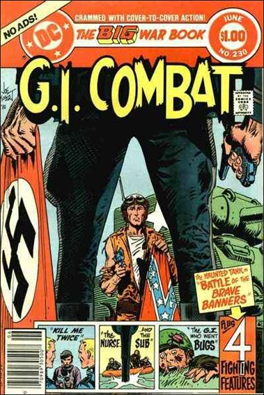 G.I. Combat (1952) 230-A by DC