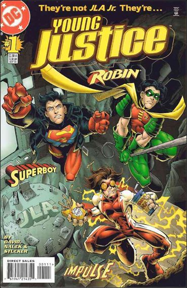Young Justice (1998) 1-A by DC