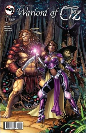 Grimm Fairy Tales Presents Warlord of Oz 3-B