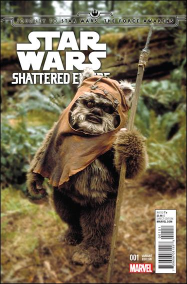 Journey to Star Wars: The Force Awakens - Shattered Empire 1-C by Marvel