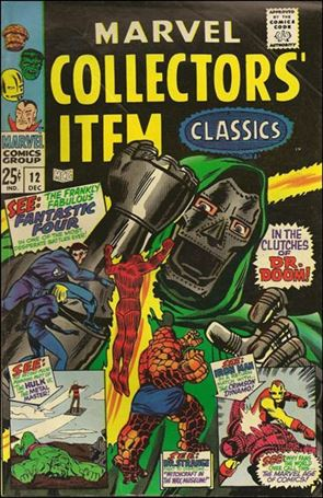 Marvel Collectors' Item Classics 12-A