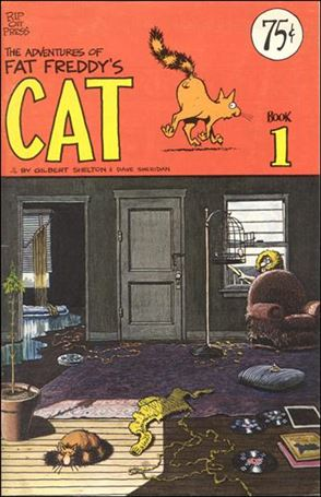 Adventures of Fat Freddy's Cat 1-D