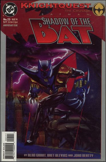 Batman: Shadow of the Bat 25-A by DC