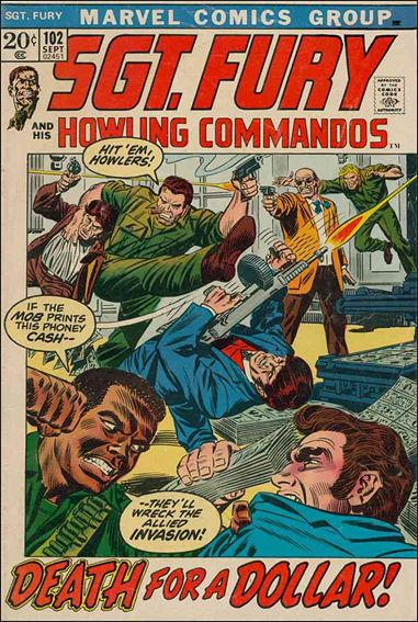 Sgt. Fury and His Howling Commandos 102-A by Marvel