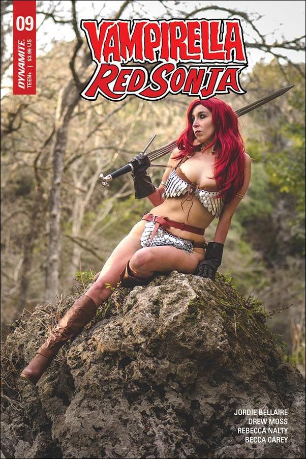 Vampirella / Red Sonja 9-D by Dynamite Entertainment