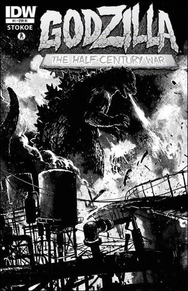 Godzilla: Half Century War  1-B by IDW