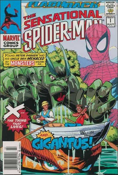 Sensational Spider-Man (1996) -1-B by Marvel