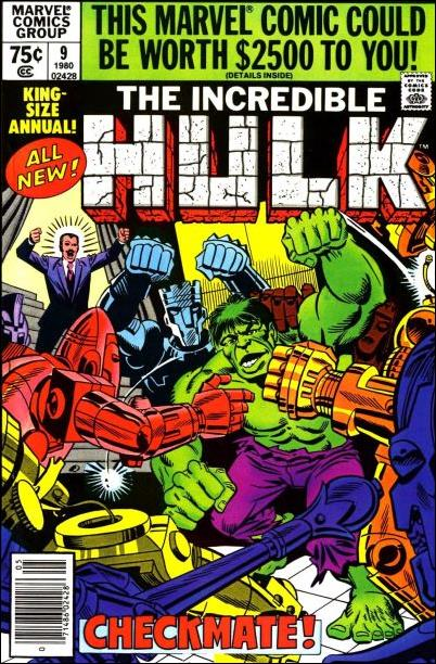 Incredible Hulk Annual  9-A by Marvel