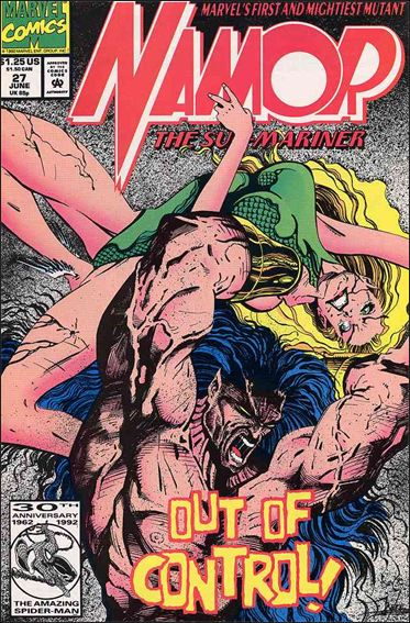 Namor: The Sub-Mariner 27-A by Marvel