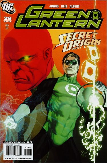 Green Lantern (2005) 29-A by DC