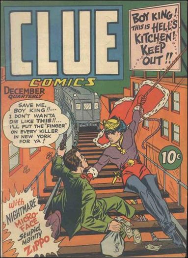 Clue Comics (1943) 6-A by Hillman