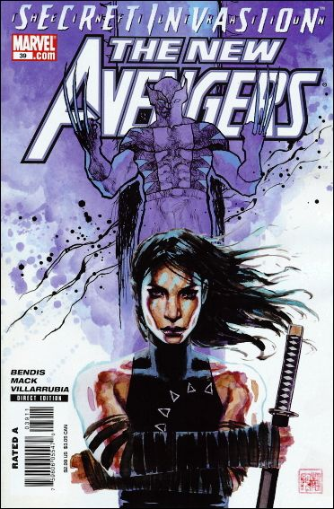 New Avengers (2005) 39-A by Marvel