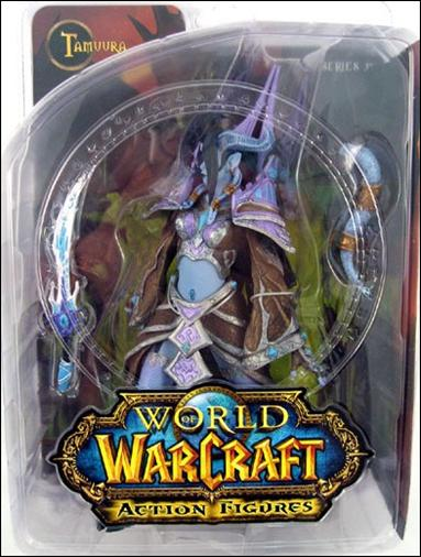 World of Warcraft (Series 3) Tamuura (Dranei Mage) by DC Direct