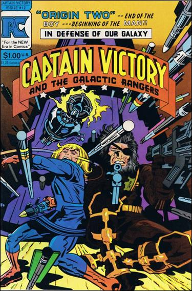 Captain Victory and the Galactic Rangers (1981) 12-A by Pacific