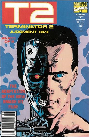 Terminator 2: Judgment Day (1991/09) 1-A by Marvel