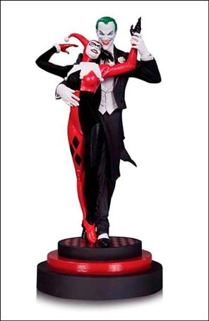 Batman: Harley Quinn - The Joker & Harley Quinn Statue The Joker & Harley Quinn 1/5200