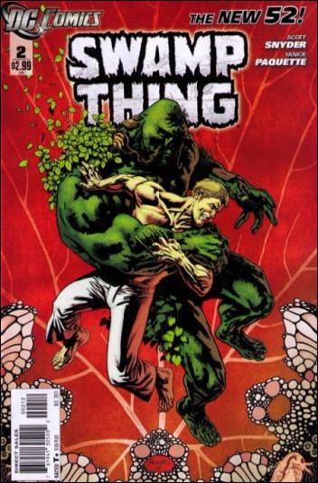 Swamp Thing (2011) 2-B by DC