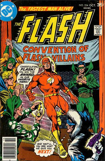 Flash (1959) 254-A by DC
