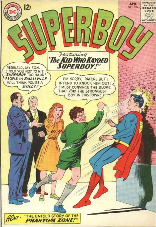Superboy (1949) 104-A by DC