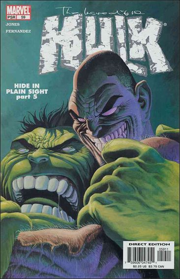 Incredible Hulk (2000)  59-A by Marvel