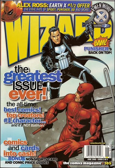 Wizard: The Comics Magazine 105-B by Wizard Press